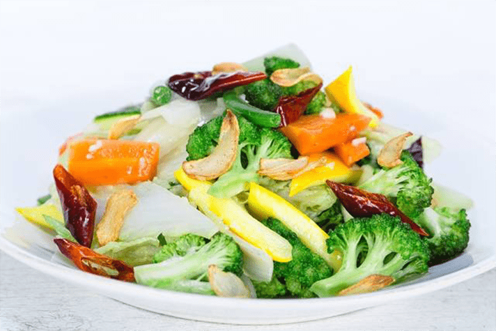 Buttery Stir Fried Veggies